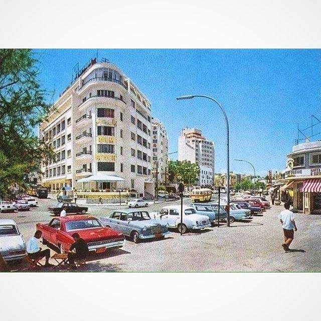 بيروت ميناء الحصن عام ١٩٧١ ،