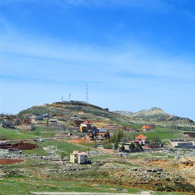 Lebanon❤❤❤ snapshot bestofthebest bestplace mountains houses sky ...