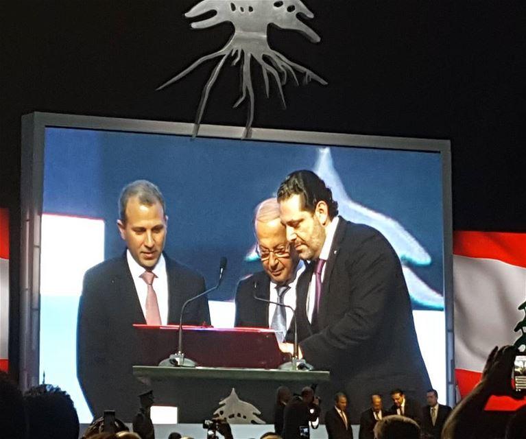 توقيع اول اتفاقية تسمح للمغتربين اللبنانيين باستعادة هويتهم اللبنانية▪▪▪▪▪ (Biel Expo)