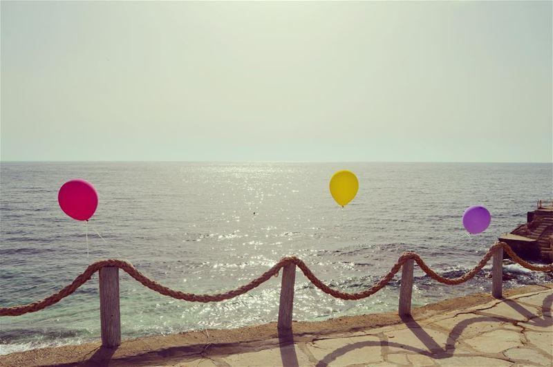 And R E L E A S E. wheremyshoeslead. Balloons JuneBeachResort Amchit ... (June Beach Resort)