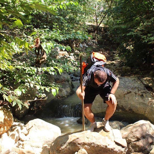 hiker hikingadventures riverwalks joyland joyoflife naturelovers ... (Rechmaya)