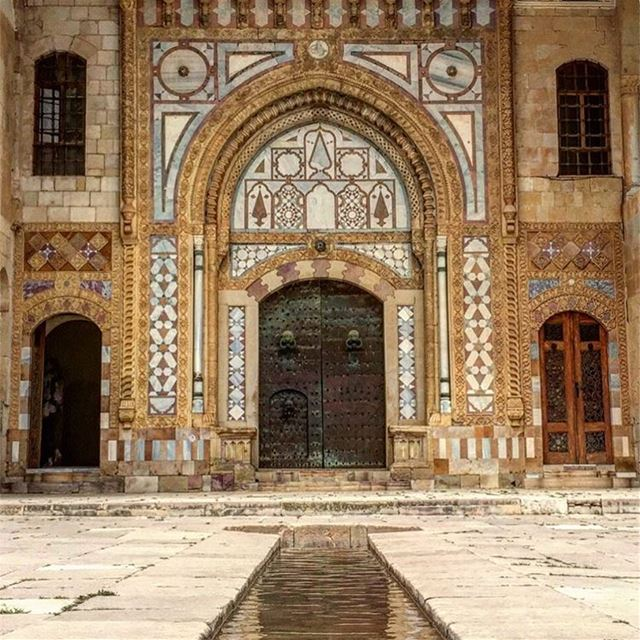 Modern Lebanon has somehow started in this place. beiteldinepalace ----- (Beit Ed-Deen, Mont-Liban, Lebanon)