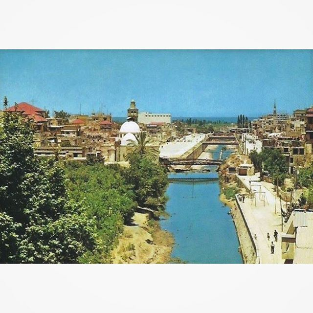 طرابلس نهر ابو علي عام ١٩٦٥ ،
