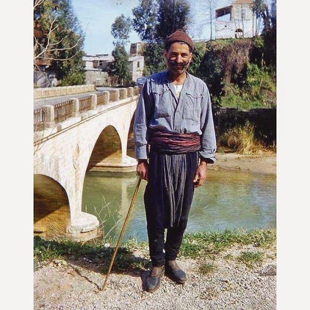 اللباس اللبناني التقليدي ،