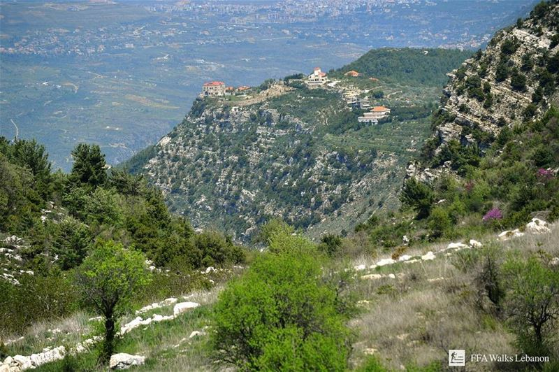 Breathtaking photo taken during our hike with the LMT @lebanontrail from... (Marjeyoun)