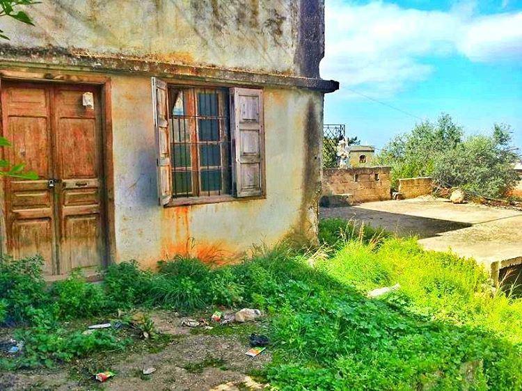 🏡🏡 old My grandparents' house 👀😊🌳⛲📷LEBANON /AKKAR IN 26/3/2014👌😄� (`Akkar, Liban-Nord, Lebanon)
