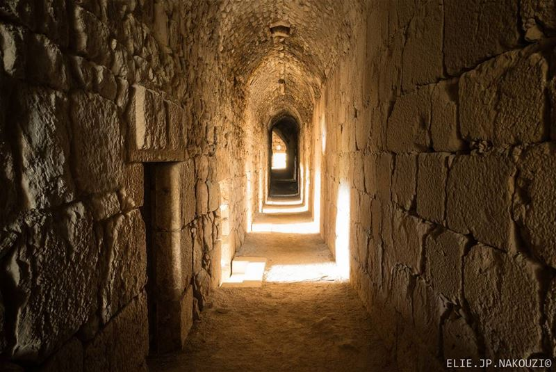 There are things known and things unknown and in between are the doors...... (Beaufort Castle, Lebanon)