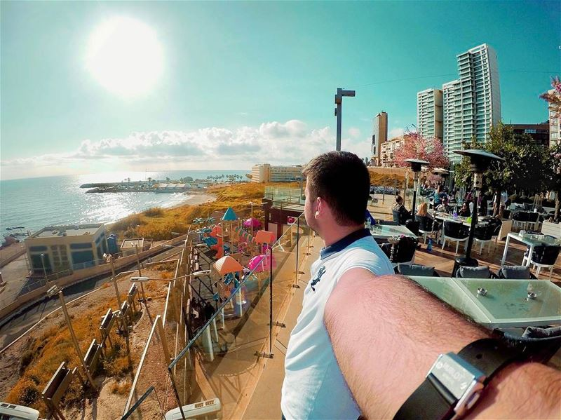 Time is not measured by clock, but by moments. 🏙... goprohero4 ... (Grand Café)