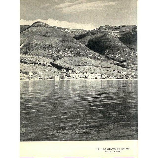 جونية عام ١٩٥٠ ،