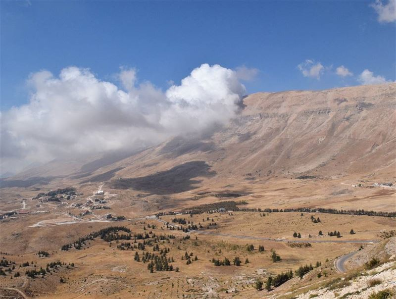 the moment we start acting like life is a blessing , it starts feeling... (El Arz, Liban-Nord, Lebanon)