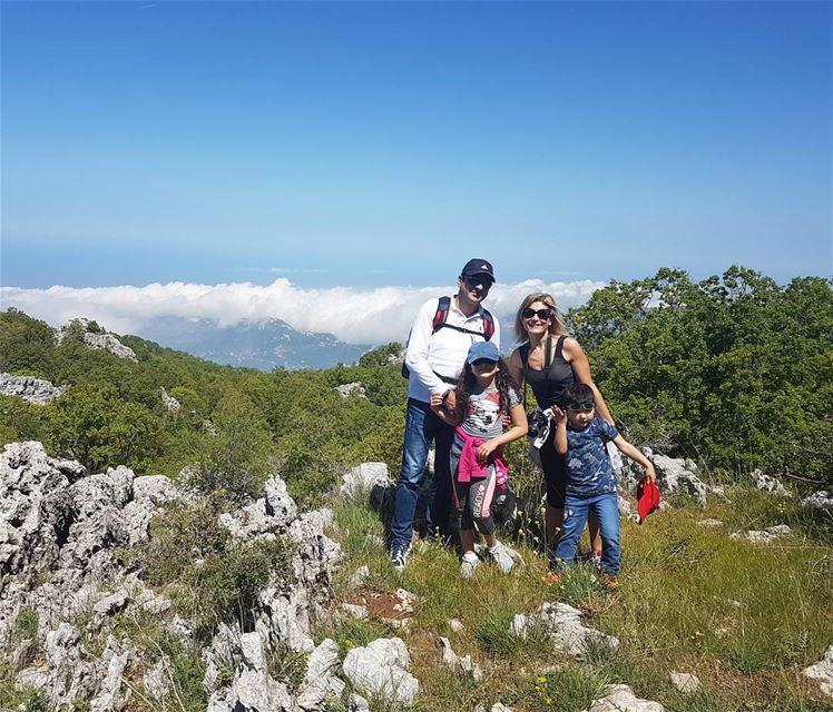 Hiking day @jabalmoussa jabalmoussa hiking hikingday naturephotography... (Salib Jabal Moussa)
