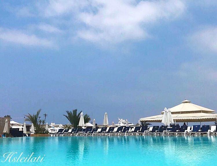 Beautiful sunny day❤️ insta_lebanon whatsuplebanon lebanonspotlights... (Saint-George Hotel,Yacht Club & Marina)
