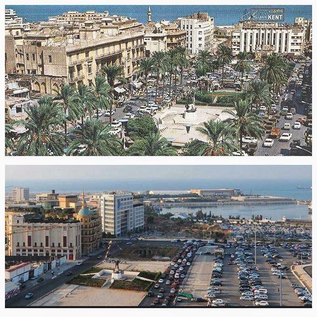 بيروت ساحة الشهداء ١٩٦٧-٢٠١٥ ،