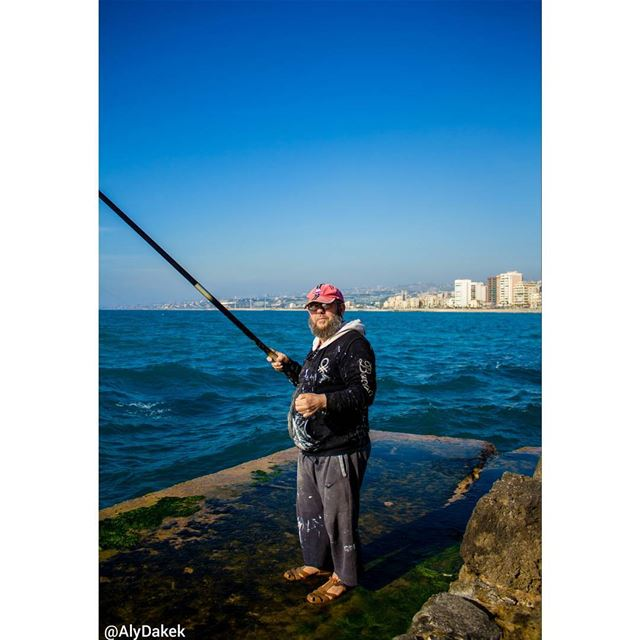""""""" It is not that life ashore is distasteful to me. But life at sea is... (Sidon, Lebanon)"""