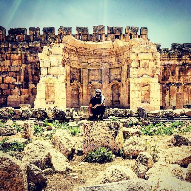 🏴 I came, I saw, I conquered 🏴 baalbek ... (Baalbek, Lebanon)