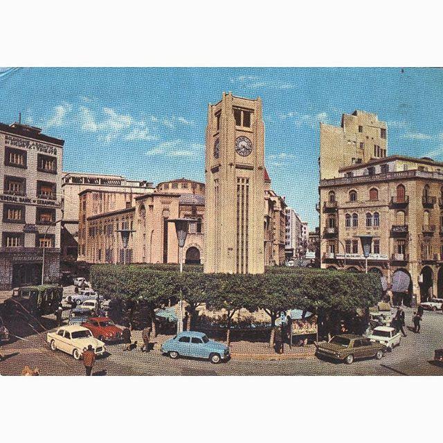 صباح الخير من بيروت ساحة النجمة عام ١٩٦٧ ،