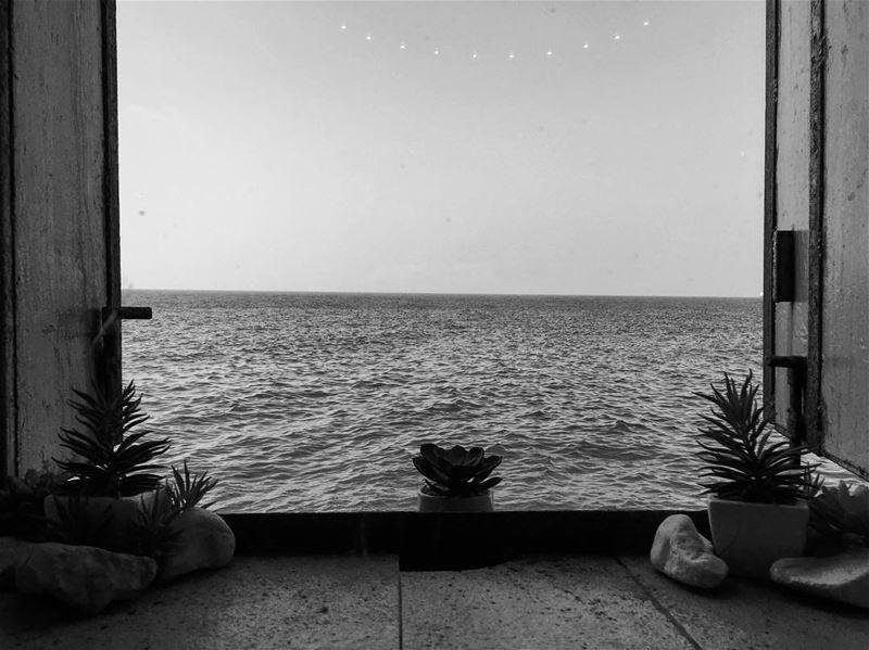 Let the sea set you free.. lebanon beirut livelovebeirut ... (Beirut, Lebanon)