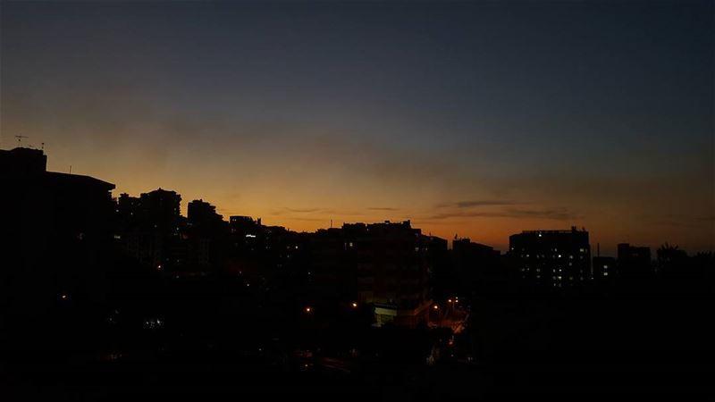 Sunday evening 🌆 (Jounieh, Liban)
