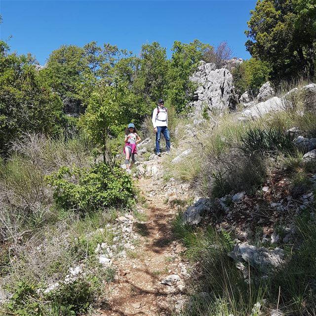 Discovering the nature... @jabalmoussa jabalmoussa hiking hikingday ... (Qornet el Mzâr)