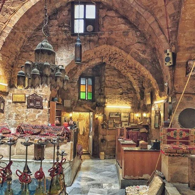 Ett ställe där man kan koppla av ☀️💫By: @migeal101 lebanese_in_sweden ... (Hamam Al-Abed)