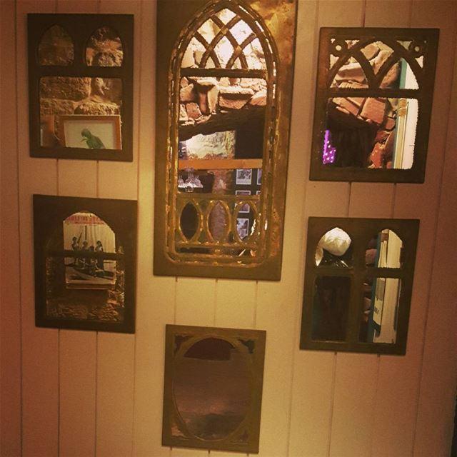 mirrors reflection byblos lebanon interiordesign housedecoration ... (Byblos - Jbeil)