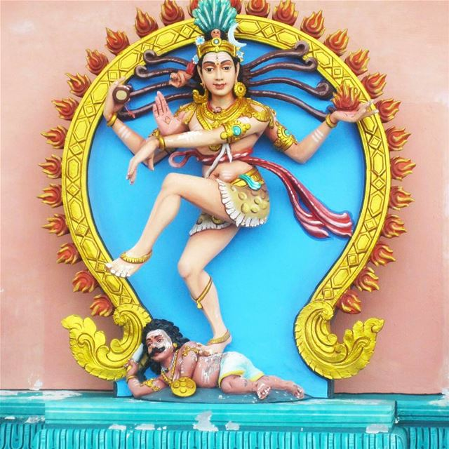 You Go Girl! instatraveling instagood instapassport travelgram ... (Hindu Temple at Penang Hill)