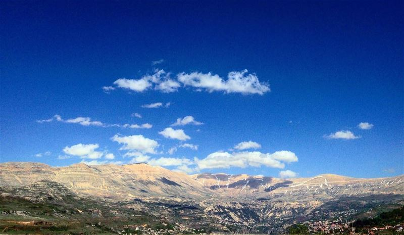 photooftheday instapic nature mountains sky clouds snow spring ... (Bcharré, Liban-Nord, Lebanon)