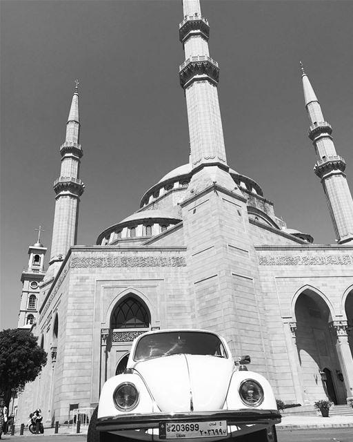 lebanon beirut livelovelebanon livelovebeirut downtown... (Mohammad Al Amin Mosque)