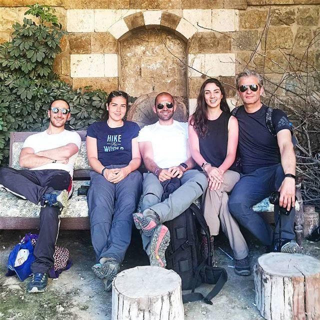"""Repost @le_rami """" ffawalkslebanon Discovering Hasbaya citadel on the way... (Hasbaya)"""