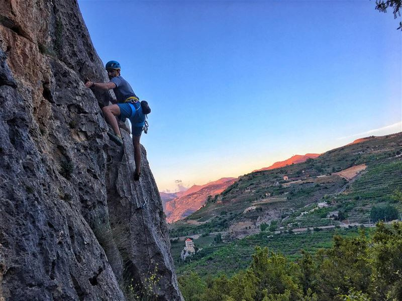 Climbing untill sunset sunset climb mountains mountains climbing ...
