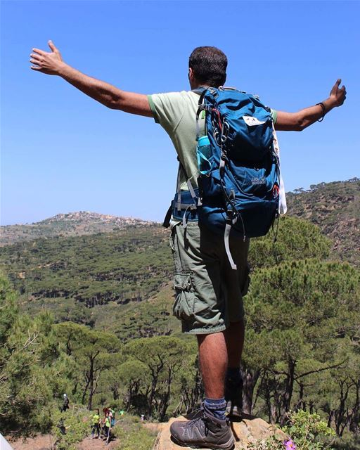 hiker hiking naturelovers greenzone greenpeace hikingadventures ... (Haïtoura, Al Janub, Lebanon)