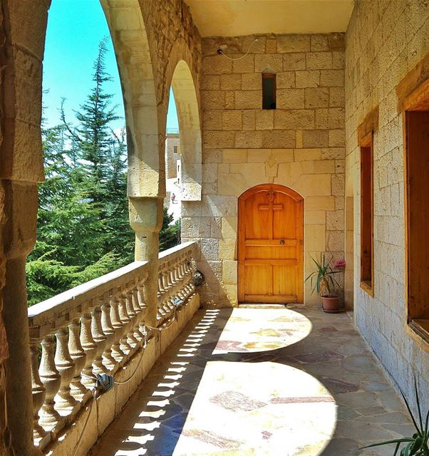 Good Morning 🌹 lebanon nature naturelovers natureporn landscape ... (Mar Antonios-Kozhaya)