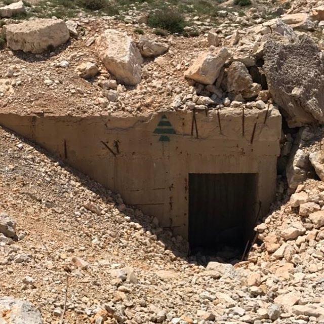 الله_الوطن_العائلة lebanon lebanese war bunker kataeb ig_lebanon ... (Jerd El Akoura)