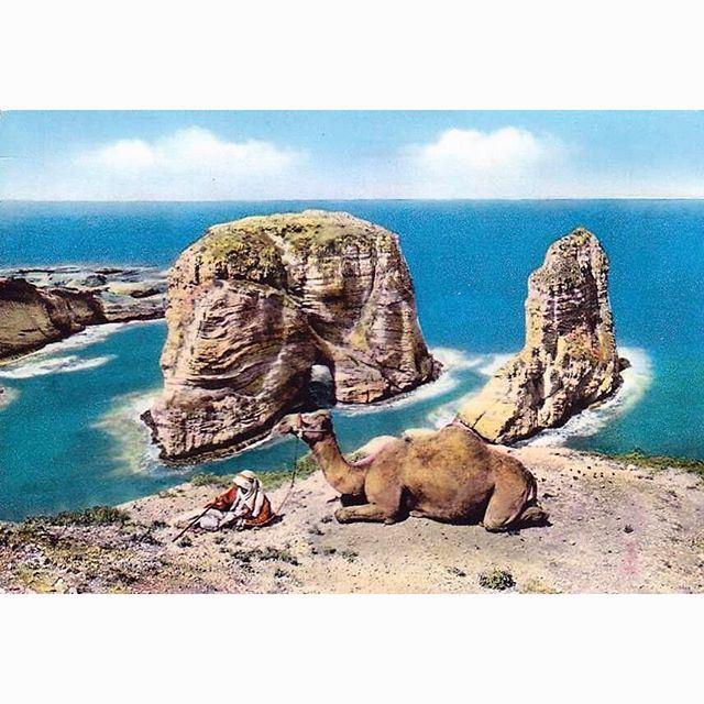 بيروت الروشة عام ١٩٦٤ ،