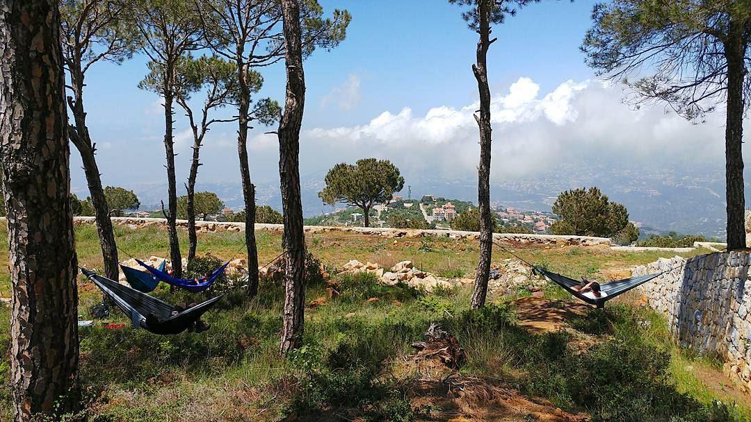 Sweet life 🌳💤🌳....... myadventureslebanon lebanon sundaychill...