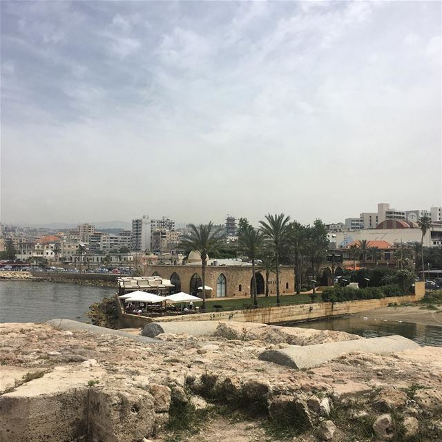 View from the 13th Century Saida Sea Castle - Saida Rest House myhometown...