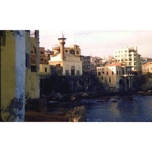 بيروت عين المريسة عام ١٩٥٦ ،