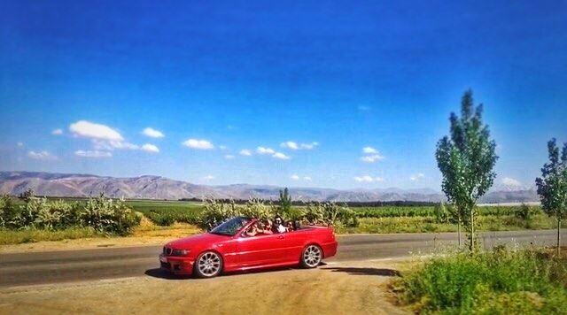 من بيروت لعمّيق... مرقت سيارة حَمرة🏎🚓 roadtrip adventure lebanon ...