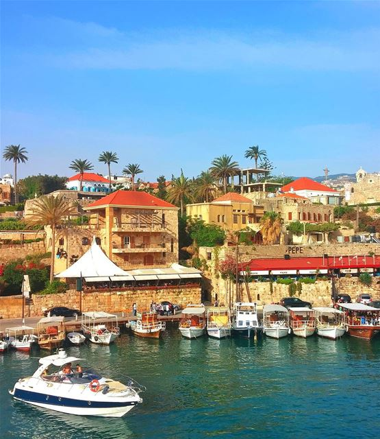 Beautiful Byblos 😍 lebanon nature naturelovers natureporn landscape ... (Byblos, Lebanon)