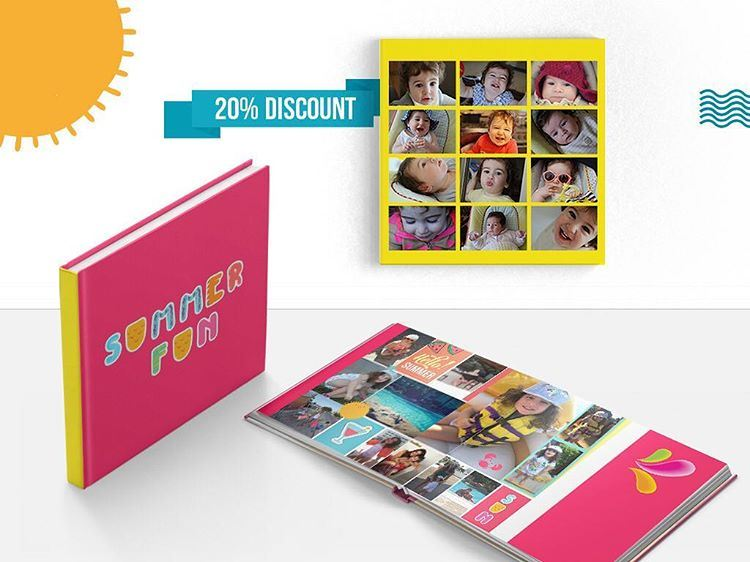 Let's Welcome Summer20% off on Photo books and Canvases only!Use...