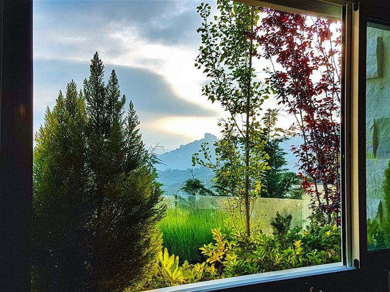 Window views view window home brummana relax chill mountain hdr ... (Brummana)