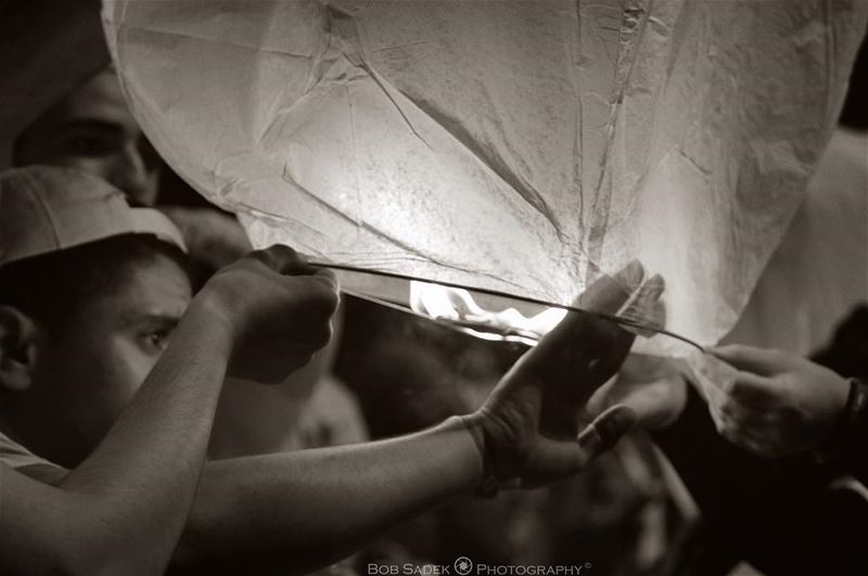 L I G H T 💡 bobsadekphotography lantern event deeds deedslebanon ... (Beirut Waterfront)