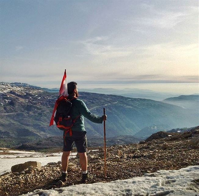 Life is an adventure. Live it. 🌎... hiking  hike  mountains  live ... (Lebanon)