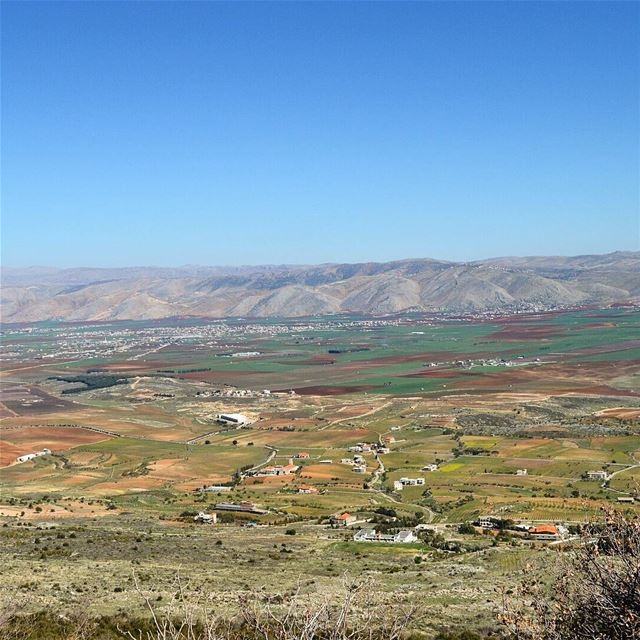 Lovely bekaa❤❤❤ farmland mountains bestplace beautifulweather ... (West Bekaa)