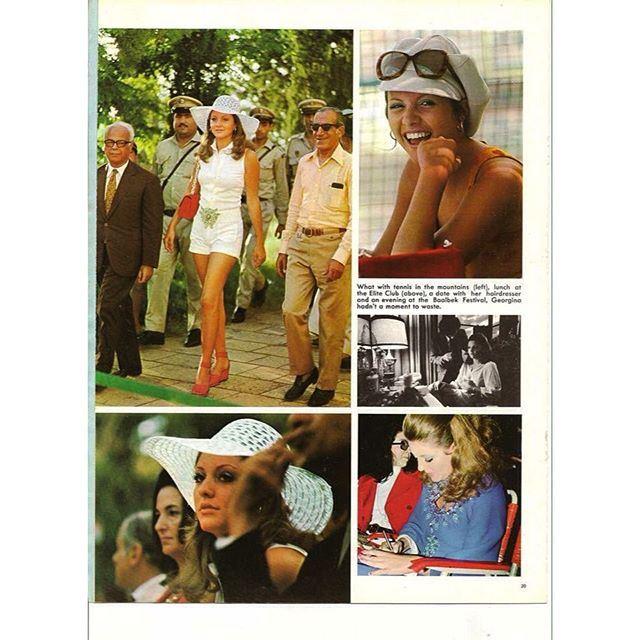جورجينا رزق ملكة جمال الكون عام ١٩٧١ .