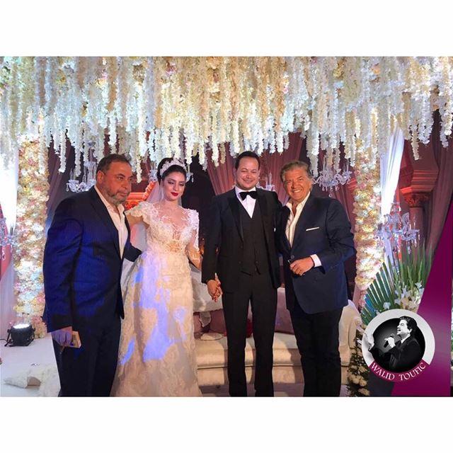 احي النجم العربي، وليد توفيق، حفل زفاف الإعلامي الكبير، سمير الوافي و زوجته (تونس العاصمة)