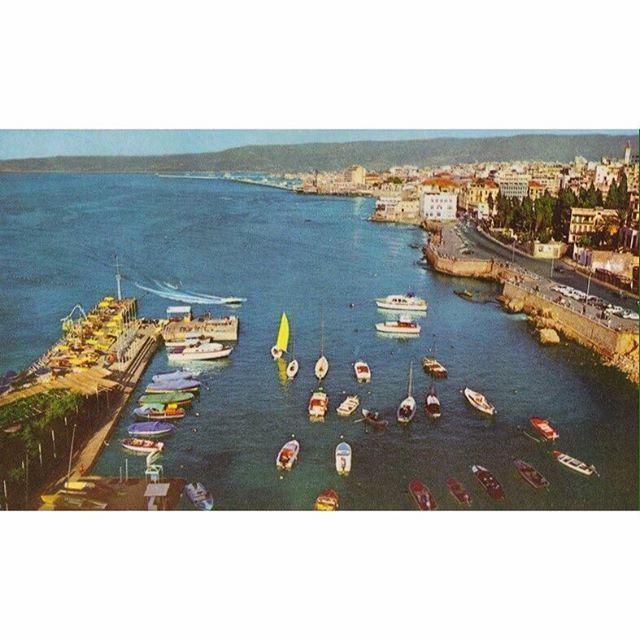 صباح الخير من بيروت عام ١٩٦١ ،