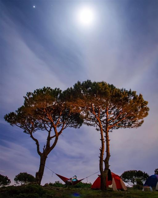 To the Moon and back, remember? 🌌 🏕.......... lebanon ... (Lebanon)