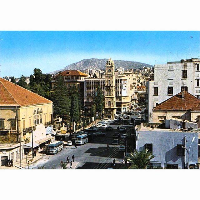 طرابلس ساحة التل عام ١٩٦٧ ،