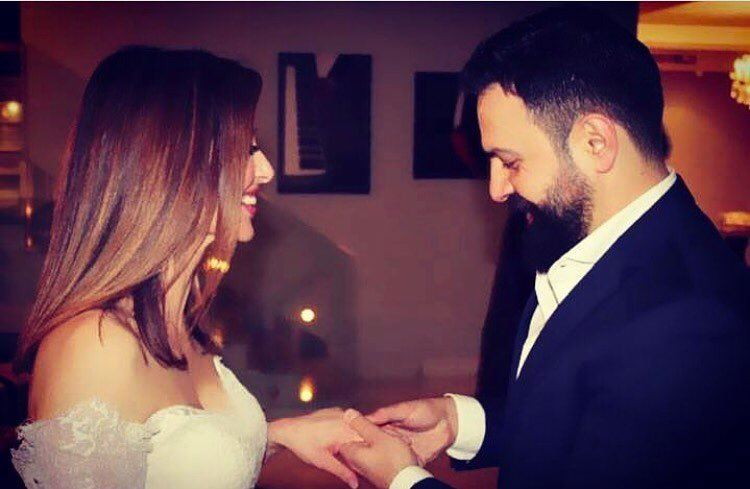 Wipe you tears Ladies and let's congratulate @elkilanywafaa @taimhasan 💍❤️